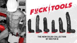 Mister B Fucktools dildo collection banner