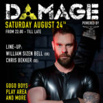 DAMAGE PARTY AMSTERDAM 24-08-2019