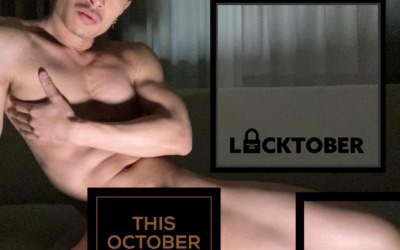 Mister B Locktober Challenge 2020 with Cagedjock